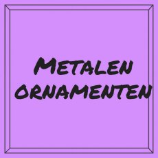 Metalen ornamenten