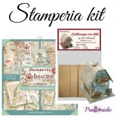 Stamperia Kit House of Journals + Imagine paperpad